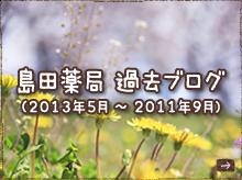 島田薬局  過去ブログ