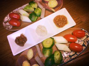 五色の野菜
